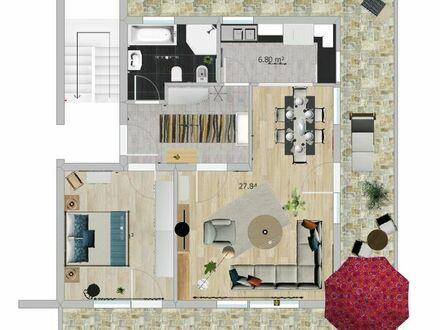 2-Zi. Penthouse-Wohnung zu verkaufen
