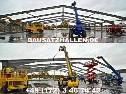 ANKAUF Abbau & Wiederaufbau von Gewerbe-/ Industriehallen ob Holzhalle/ Stahlhalle, Ankauf & Verkauf