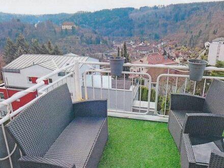 Neuenbürg Nähe Buchberg 4-Zi.-Maisonette Wohnung mit sonniger Aussichtslage ab Okt 19 zu vermieten