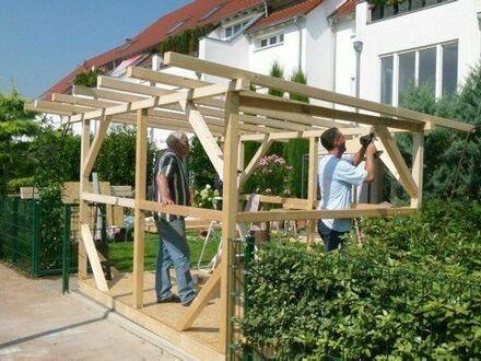 Baue Gartenhaus,Gartenlaube,Blockhäuser,anbauten, vorbauten auf Naturbasis aus holz, schlüsselfertig
