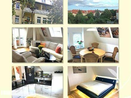 Wohnen auf Zeit 65 qm 2 Zimmer Balkon Stellplatz Erfurt