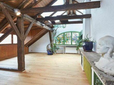 Provisionsfrei, großzügiges Wohn-Atelier mit Loftcharakter