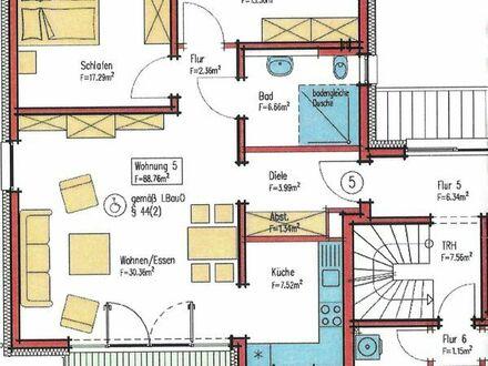 3 Zimmer, Küche, Bad, Balkon, barrierefrei, in Otterbach
