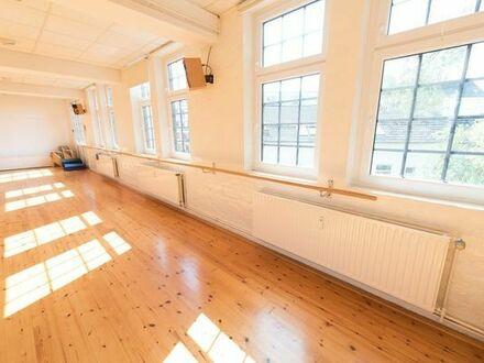Tanzraum  Tanzsaal  Studio  Übungsraum  Bewegungsraum zur Untermiete