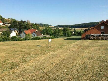 Bauplatz 1.400 m² in Barntrup-Sonneborn - Platz satt!