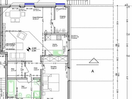 2-Zimmer/Küche/Bad - 75 m2 (Einliegerwhg.)