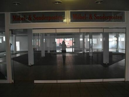 großes Ladenlokal / Gewerbeeinheit in Arnstadt zu vermieten / verkaufen