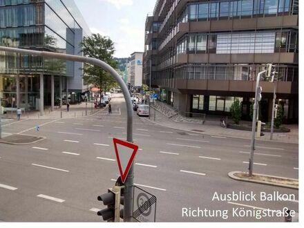 Beim Hbf Stuttgart: Separater Büroraum in Bürogemeinschaft
