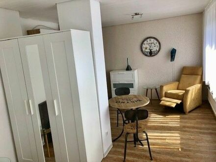 Schöne möblierte 24 m2 Pendlerwohnung, Gerlingen, Stadtmitte