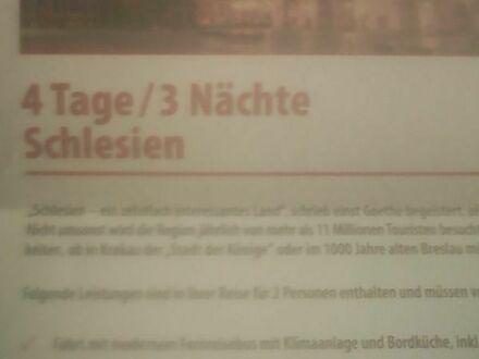 Reise nach Schlesien 4 Tage / 3 Nächte