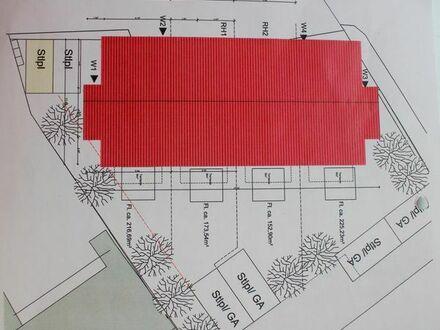 Baugrundstück:Zentrale Verkehrslage für Mehrfamilienhaus oder Reihenhäuser.