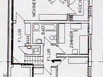 Gepflegte 4-Zimmer-Wohnung mit Balkon und EBK in Karlsruhe - wegen Eigenbedarf befristet max. 1 Jahr