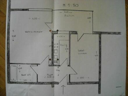 2 ZIMMER-DACHGESCHOSSWOHNUNG in Ditzingen zum Verkauf , 57 qm, überdachter Balkon, Einzelgarage