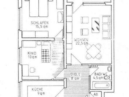 Schöne 3-Zimmer-Wohnung mit Balkon im grünen Gürtel von Witten