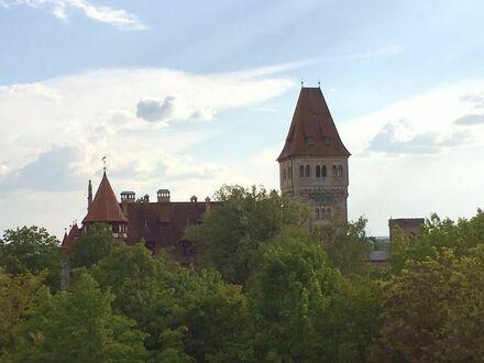 Perfekter Blick auf das Steiner Schloss - Schöne Maisonette-Wohnung