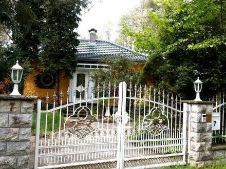 Kleine Villa direkt am Waldsee nahe Berlin