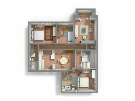 90 qm 5 Zimmer Wohnung zu Verkaufen - Cannes, Süd Frankreich - Petit Juas Stadtteil