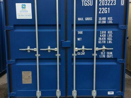 "20 DC`` Container ""neuwertig"" Farbe Blau"