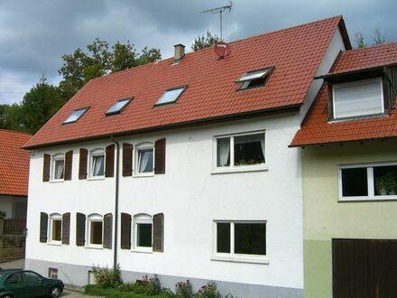 Schöne helle 3ZKB DG Wohnung mit EBK in Obergimpern