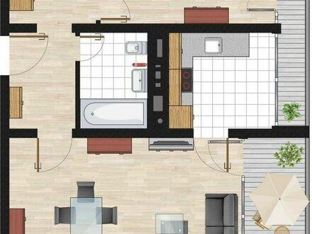 Erstbezug nach Sanierung mit EBK und BK: exklusive 2,5 Zimmer in Oberschleissheim für max 3 Jahre