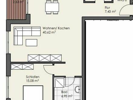 Erstbezug: attraktive 2-Zimmer Wohnung mit Balkon in Flörsheim-Dalsheim