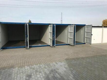Selfstorage, Container ab sofort verfügbar