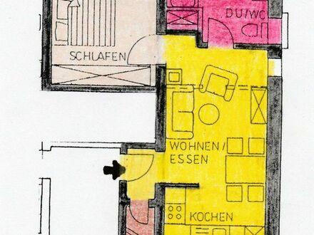 2 Zimmer-Wohnung im Zentrum von Leimen