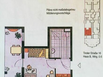 """Schöne helle 1-Zimmer Whg. im Seniorenwohnpark """"Am Stadtpark"""" Leonberg zu vermieten"""