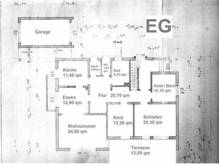 Familientaugliche EG - Wohnung im Grünen mit Garten und Keller in 86687 Kaisheim - Gunzenheim