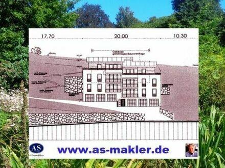 Baugrundstück für 6 große und exklusive 4,5 Raum Wohnungen mit Panoramablick!