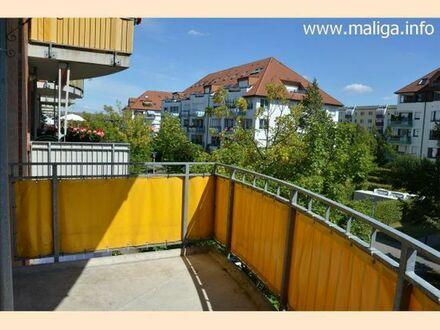 :-) Schicke sonnige 2-Raum-Wohnung/Balkon/neuer Bodenbelag/ruhige Wohnlage/Lift/Tiefgarage/Neubau **