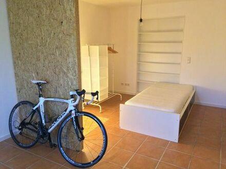 Ab sofort! Moderne 30qm Wohnung, eigenes Bad, viel grün!