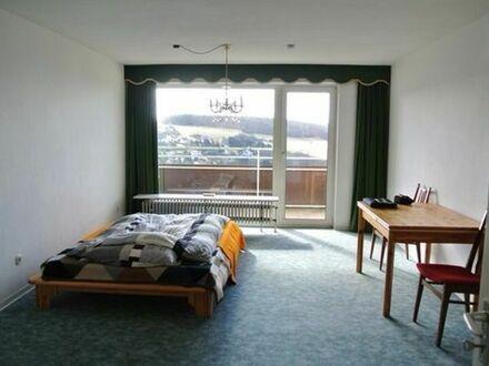 Göttschied bei Idar Oberstein Einzimmer Apartment möbliert.