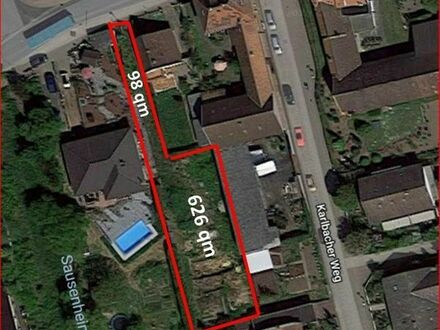 KEINE KÄUFERPROVISION Baugrundstück in 67271 Obersülzen v. privat zu verkaufen