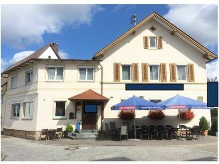 Restaurant/Pension Nähe A 81 aus Altersgründen zu verkaufen