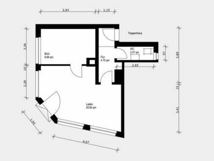 Gewerbeimmobilie in ruhiger Lager - 5 Gehminuten von Donauwörther Straße