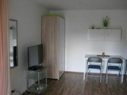 1 Zimmerapartment mit Küchenzeile und möbliert
