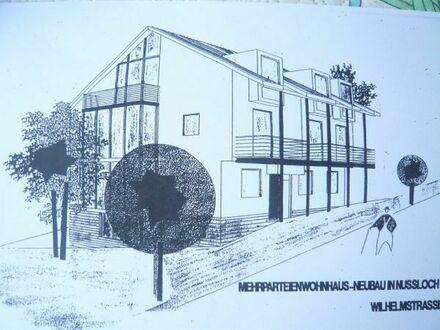 Nußloch-zentrumsnah: Schöne moderne 2 ZKB ca. 50 m2, EBK, Duschbad, Stellplatz