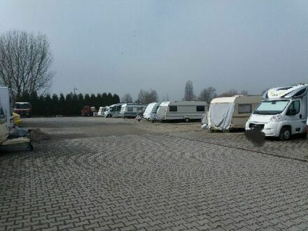 Stellplatz für Wohnwagen, Wohnmobil, Boote, Trailer, Pkw