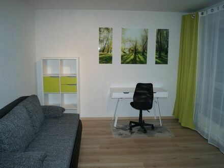 Schöne, große, helle, möblierte 1 Zimmer Wohnung in KL Innenstadt - TG-Stellplatz - provisionsfrei