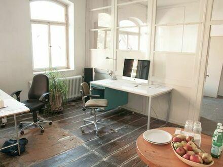 Co-Working-Plätze / Büroräume im neu enstehenden Kreativhof (Oststadt Karlsruhe)