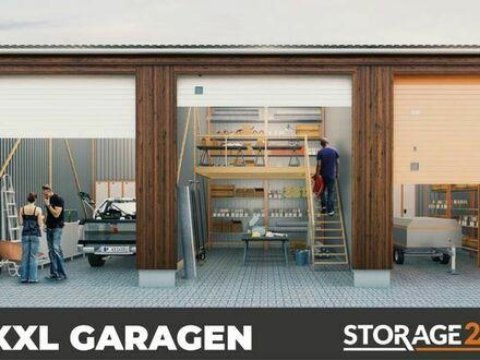 Storage24 vermietet XXL-Garagen als Arbeits- & Lagerfläche in verschiedenen Größen