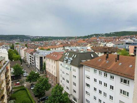 Schöne Wohnung mit Panorama in Stuttgart West befristet