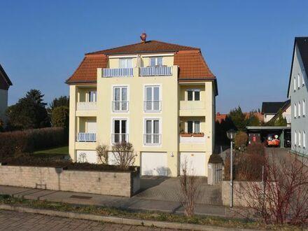 Attraktive moderne, helle 2R-WE mit Balkon u.Garage im Zentrum von 01705 Pesterwitz