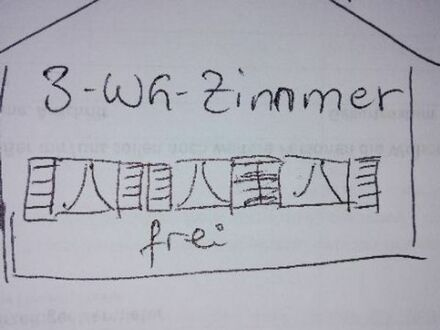 3 wg Zimmer frei