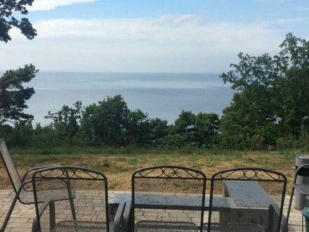 Luxusferienwohnung auf Usedom direkt am Wasser mit Traumblick aufs Stettiner Haff in Ostseenähe