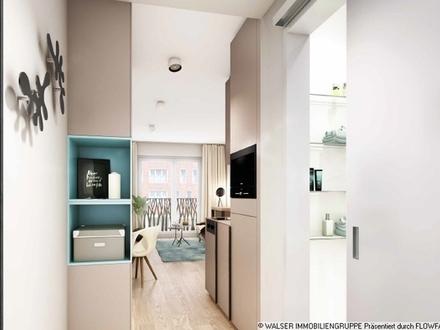 Attraktiv auch in der Rendite: Innovatives und lukratives Serviced-Apartment in begehrter Citylage