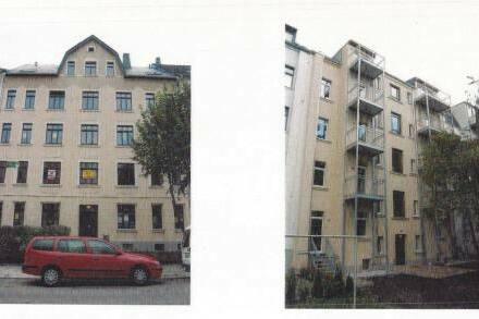 Dachgeschosswohnung in denkmalgeschützten Haus