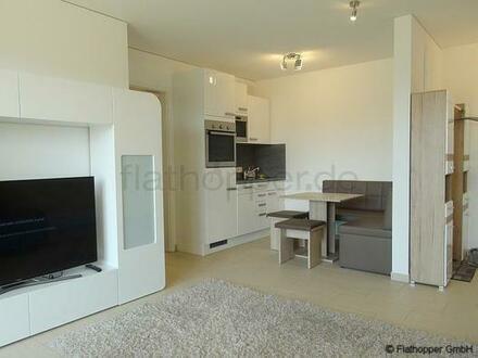 FLATHOPPER.de - Elegante 2-Zimmer-Wohnung mit Stellplatz und Balkon in München - Riem