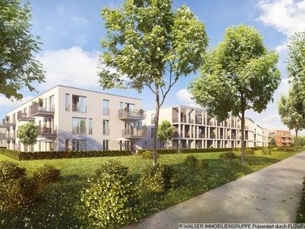 Ruhige, attraktive 2-Zimmer-Garten-Wohnung in Vaterstetten mit Blick ins Grüne